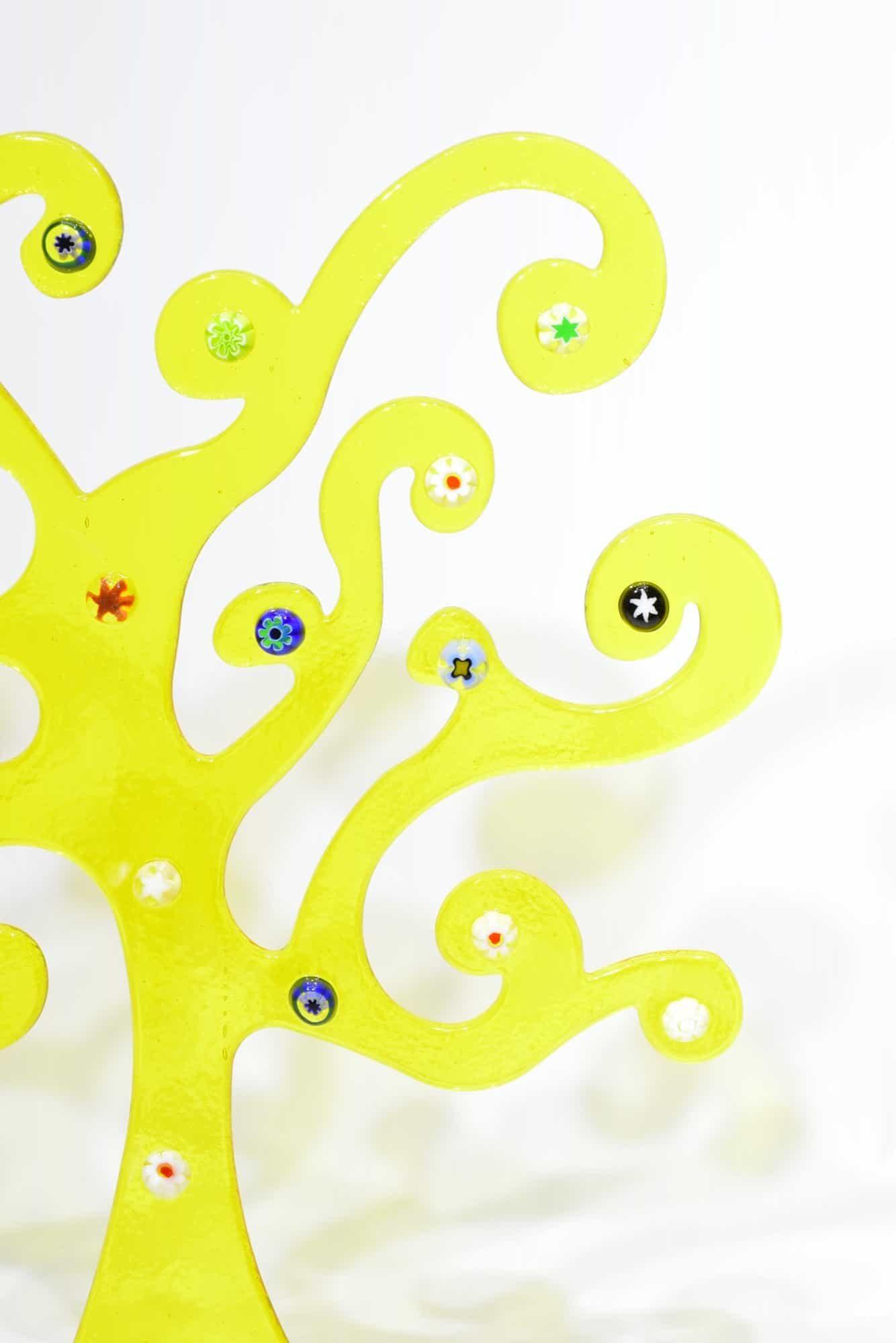 Klimtbaum aus Muranoglas - (Art. 32542)