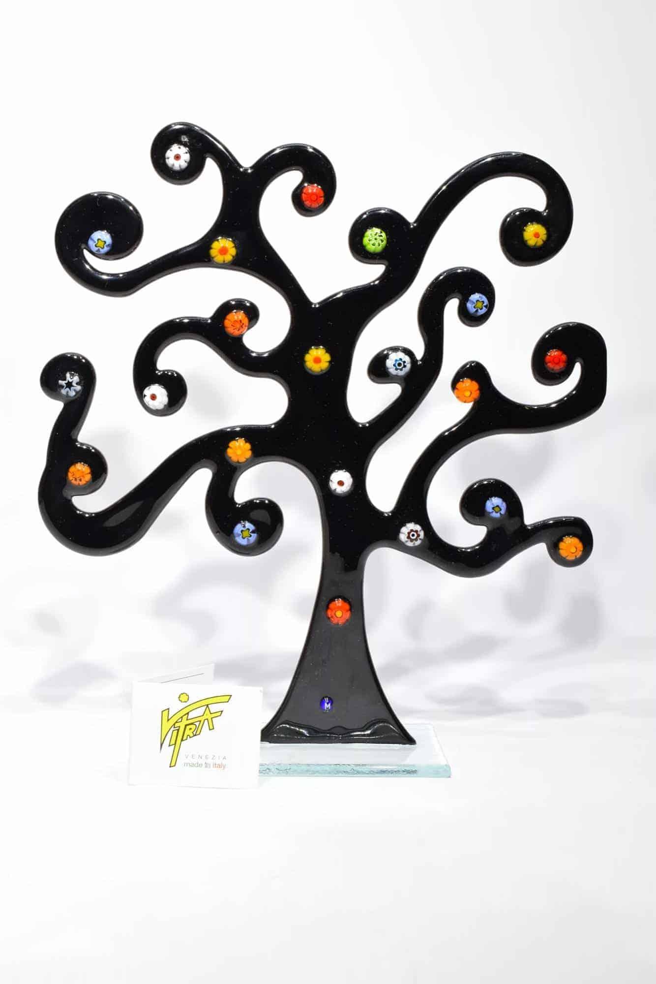 Klimtbaum aus Muranoglas - (Art. 32548)