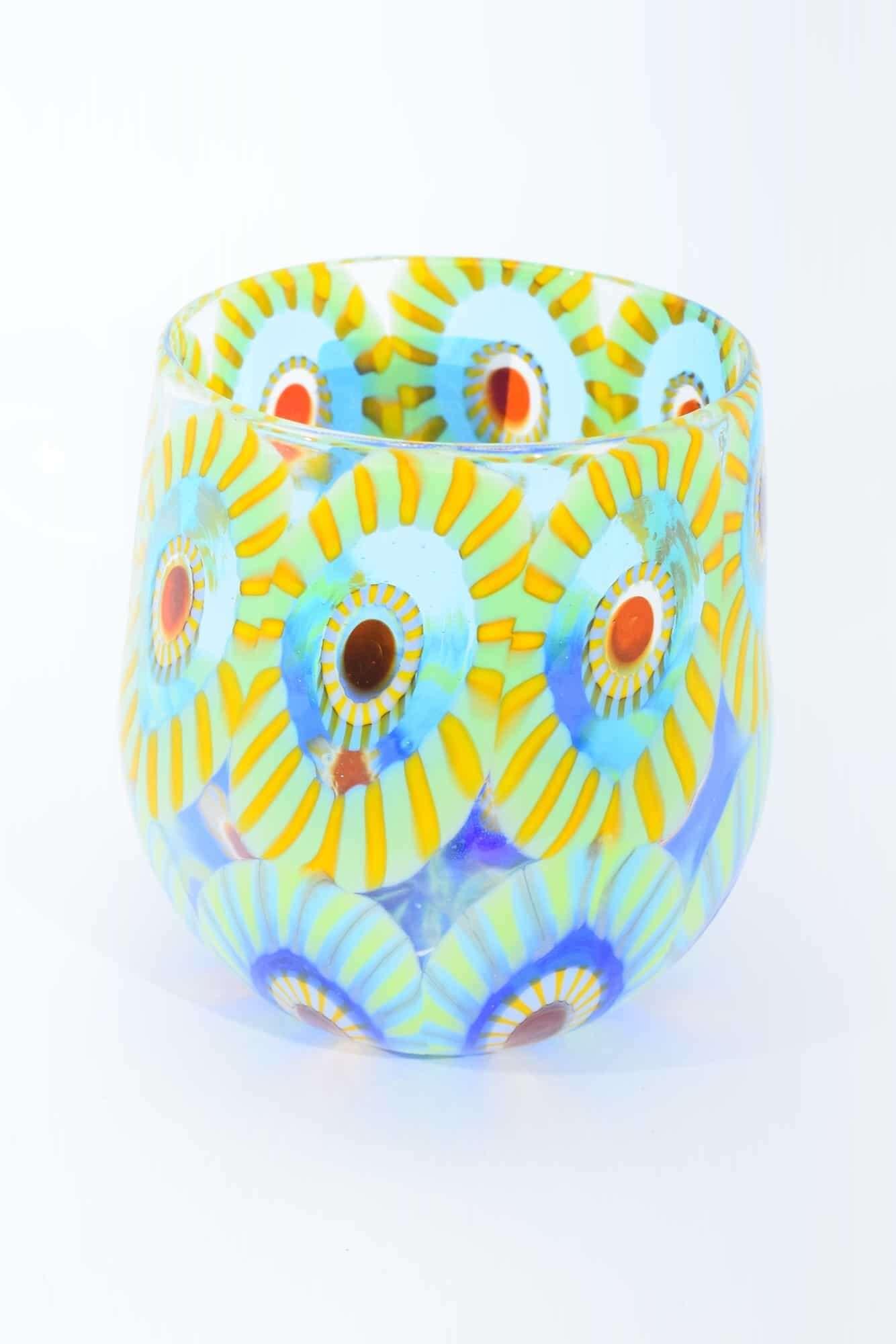 Gehe zu Glas in Muranoglas mit Murrine (Art. 33452)