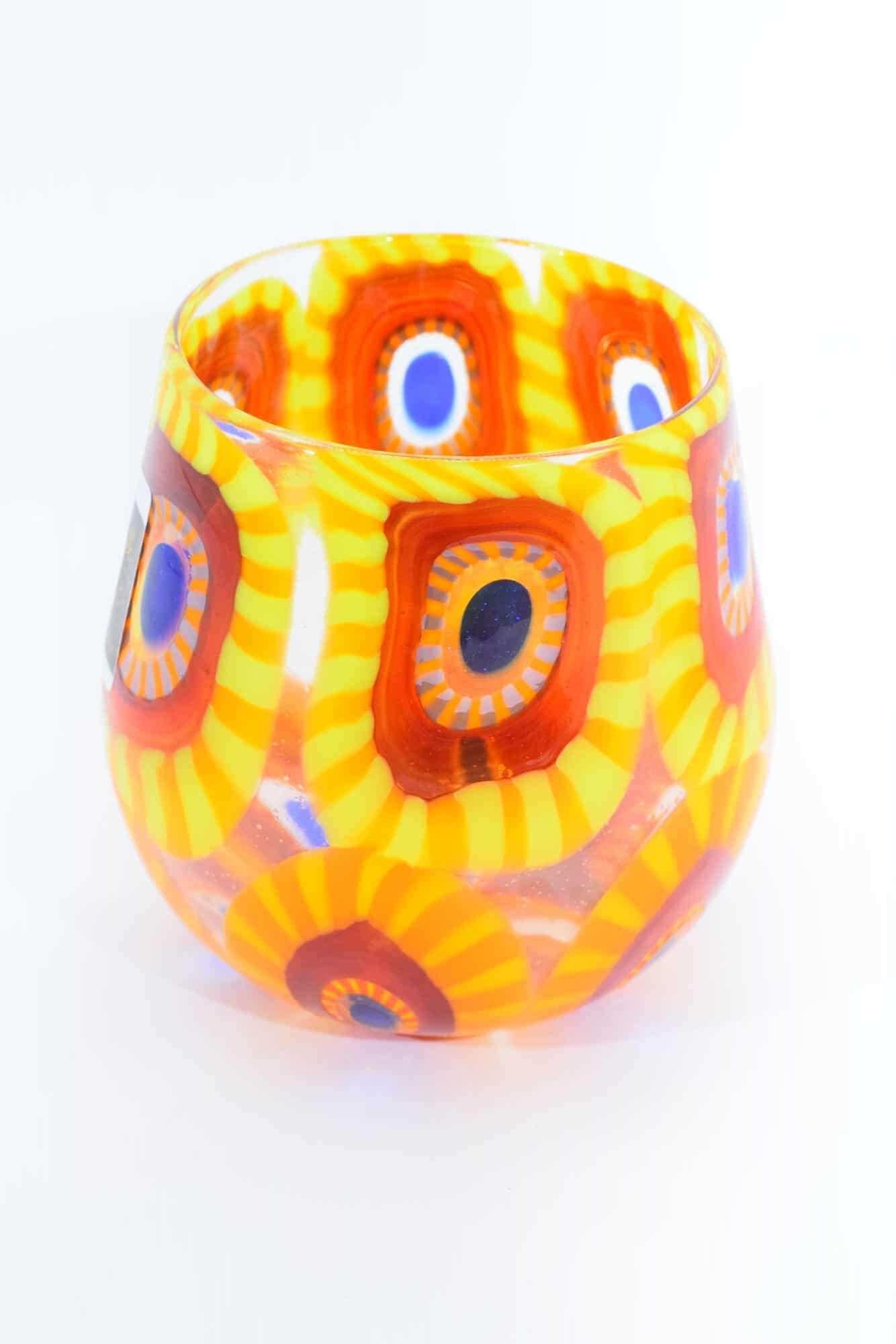 Gehe zu Glas in Muranoglas mit Murrine (Art. 33438)