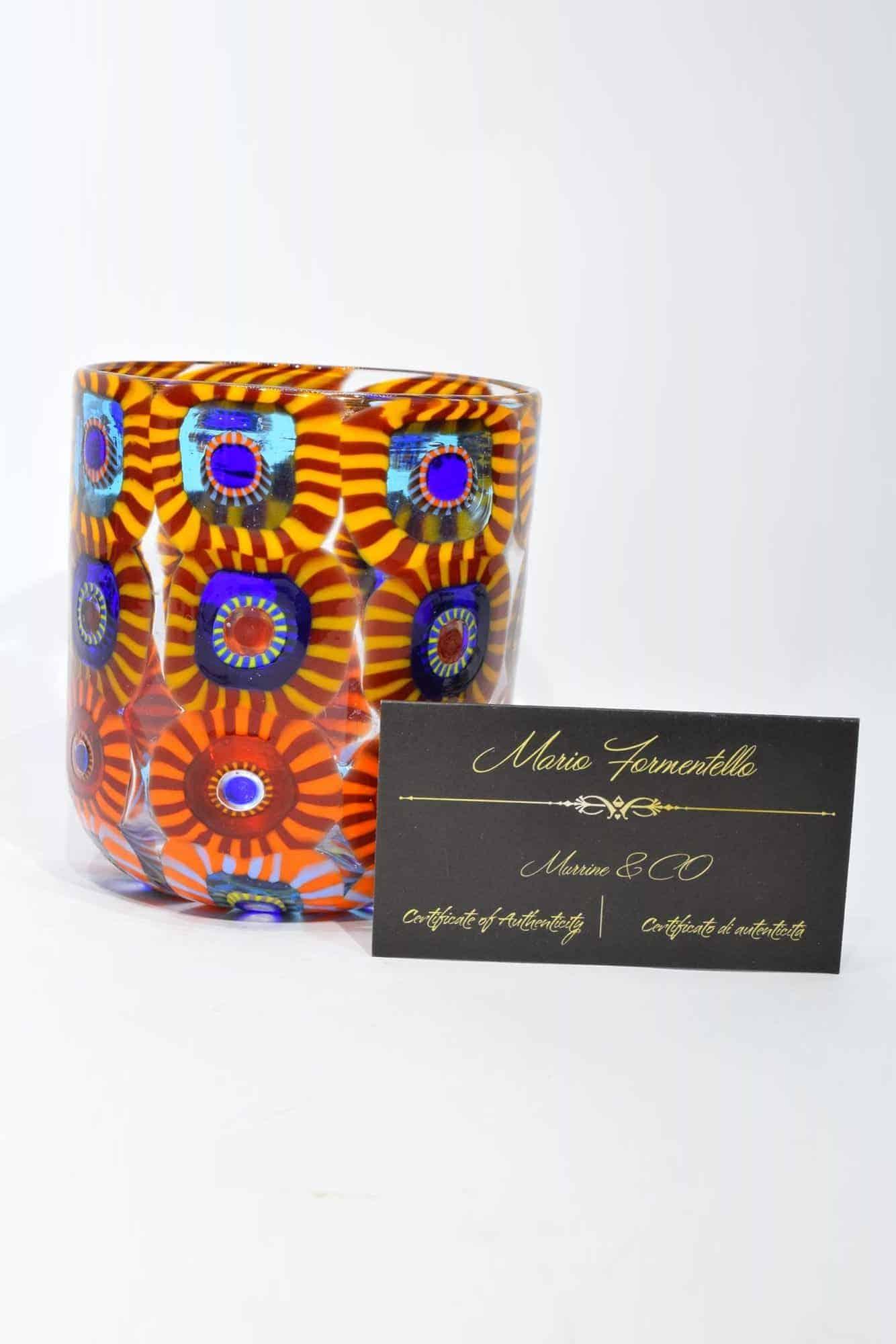 Gehe zu Glas in Muranoglas mit Murrine (Art. 33283)