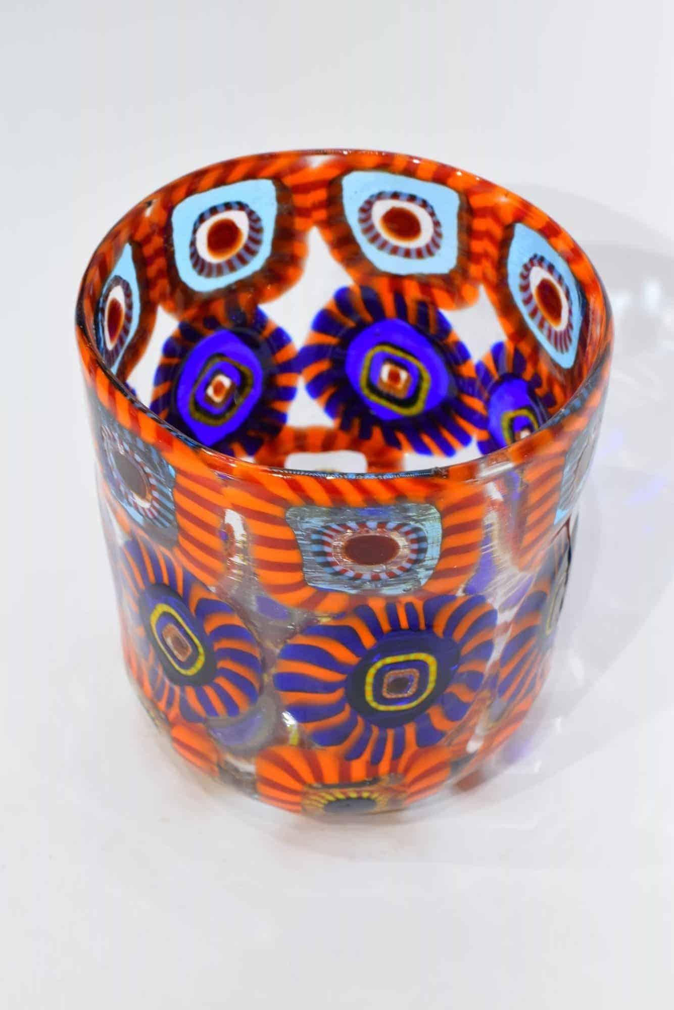 Стекло Goto из муранского стекла с муррином (арт. 33290)