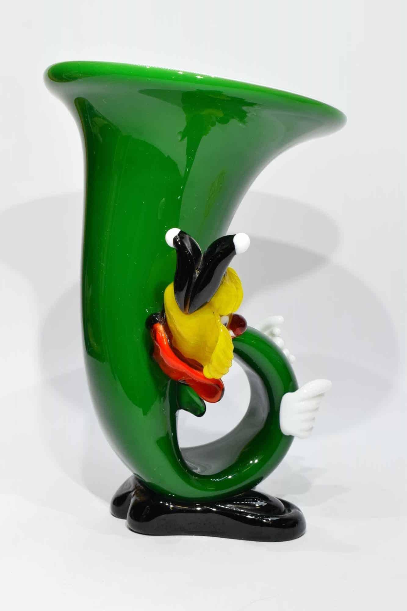 Винтажный клоун из муранского стекла - (Art. 32746)