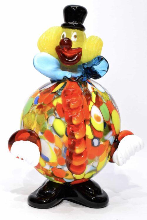 Клоун из муранского стекла