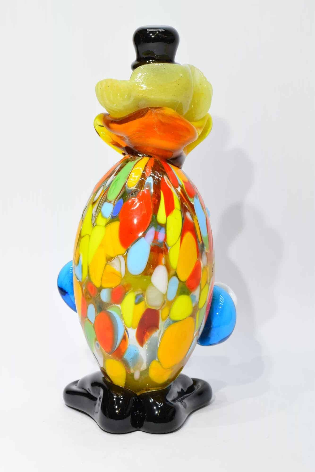 Клоун из муранского стекла - (Art.32830)