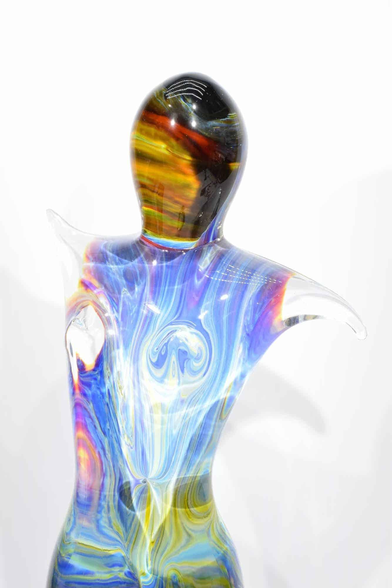 Танцовщица из халцедона из муранского стекла - (Art. 32848)