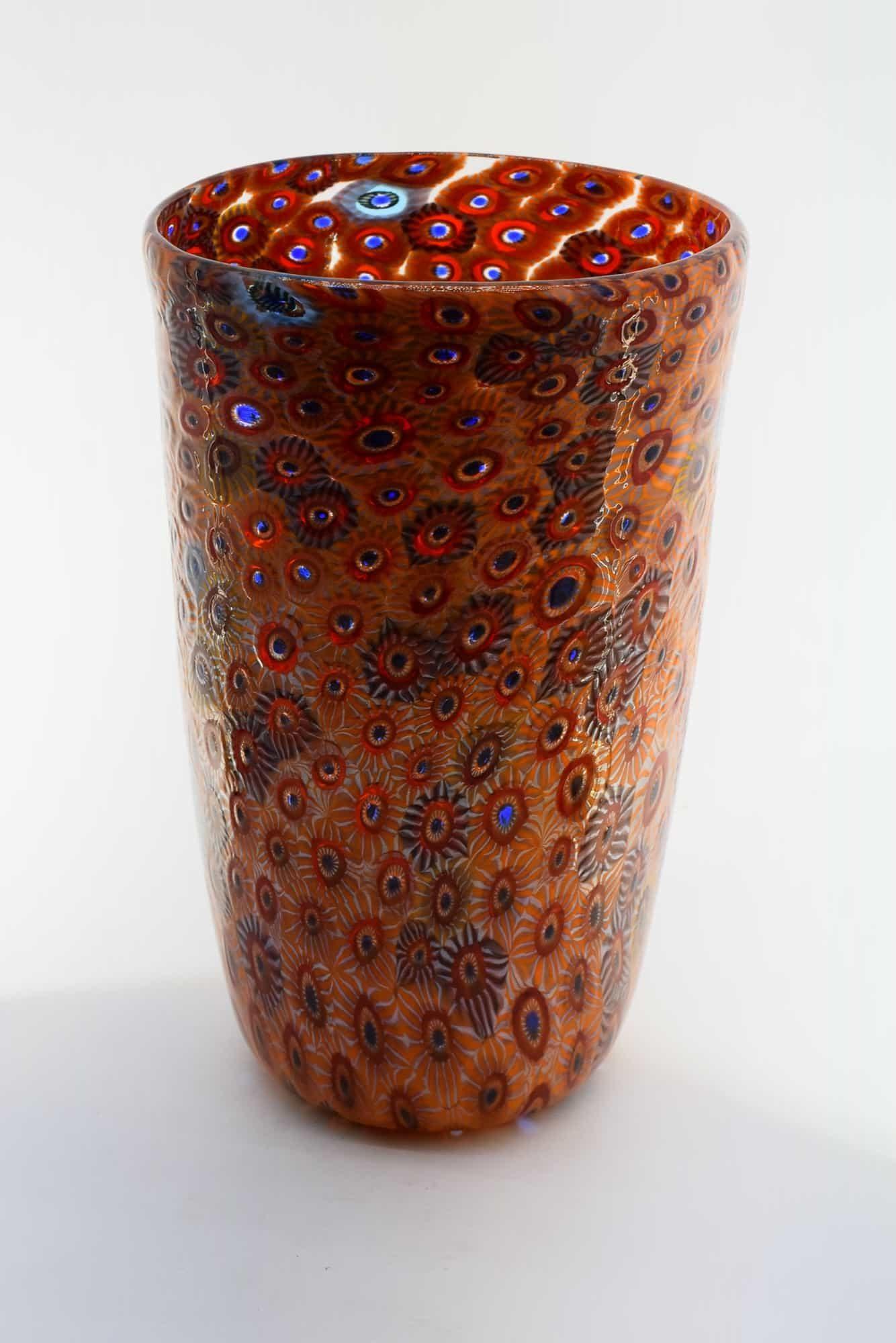 Ваза Micro Murrine из муранского стекла (Art. 13206)