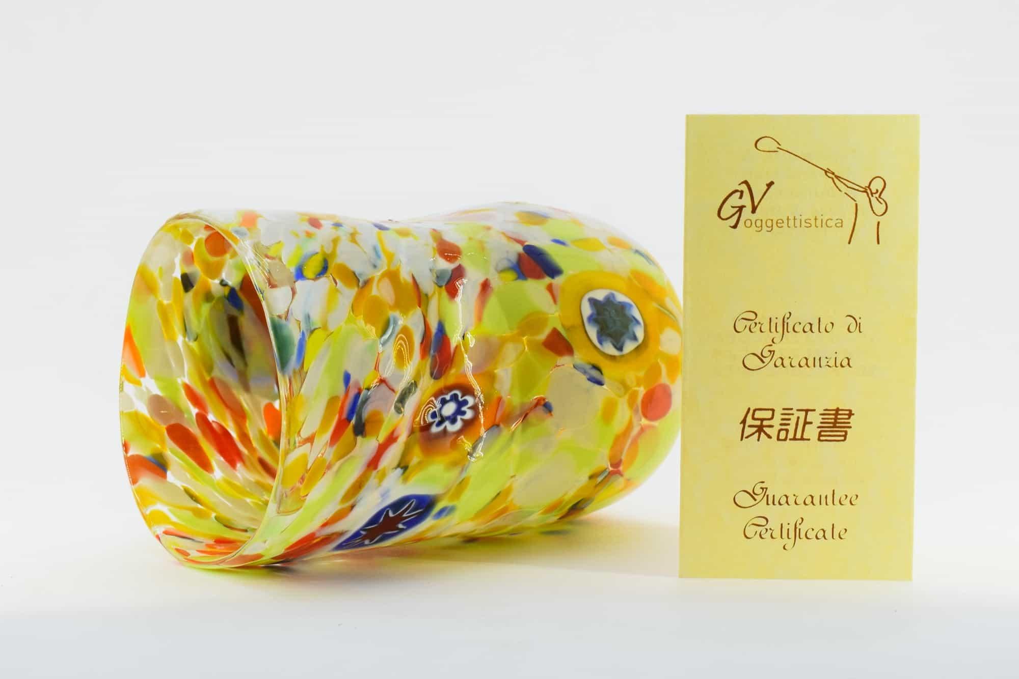 Murrine Glass In Murano Glass (Art. 35014)
