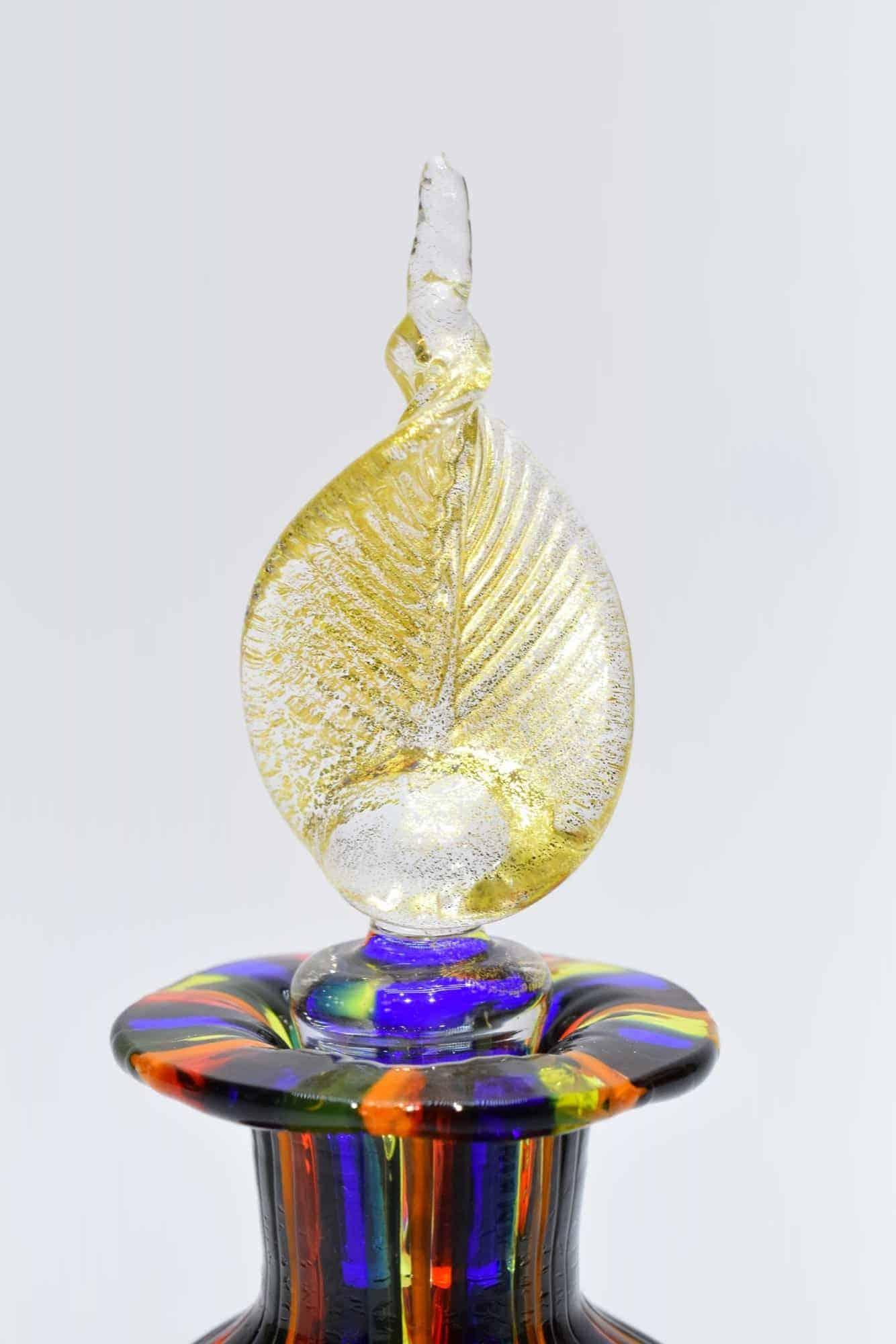 Бутылка из тростника из муранского стекла - (Art. 33909)