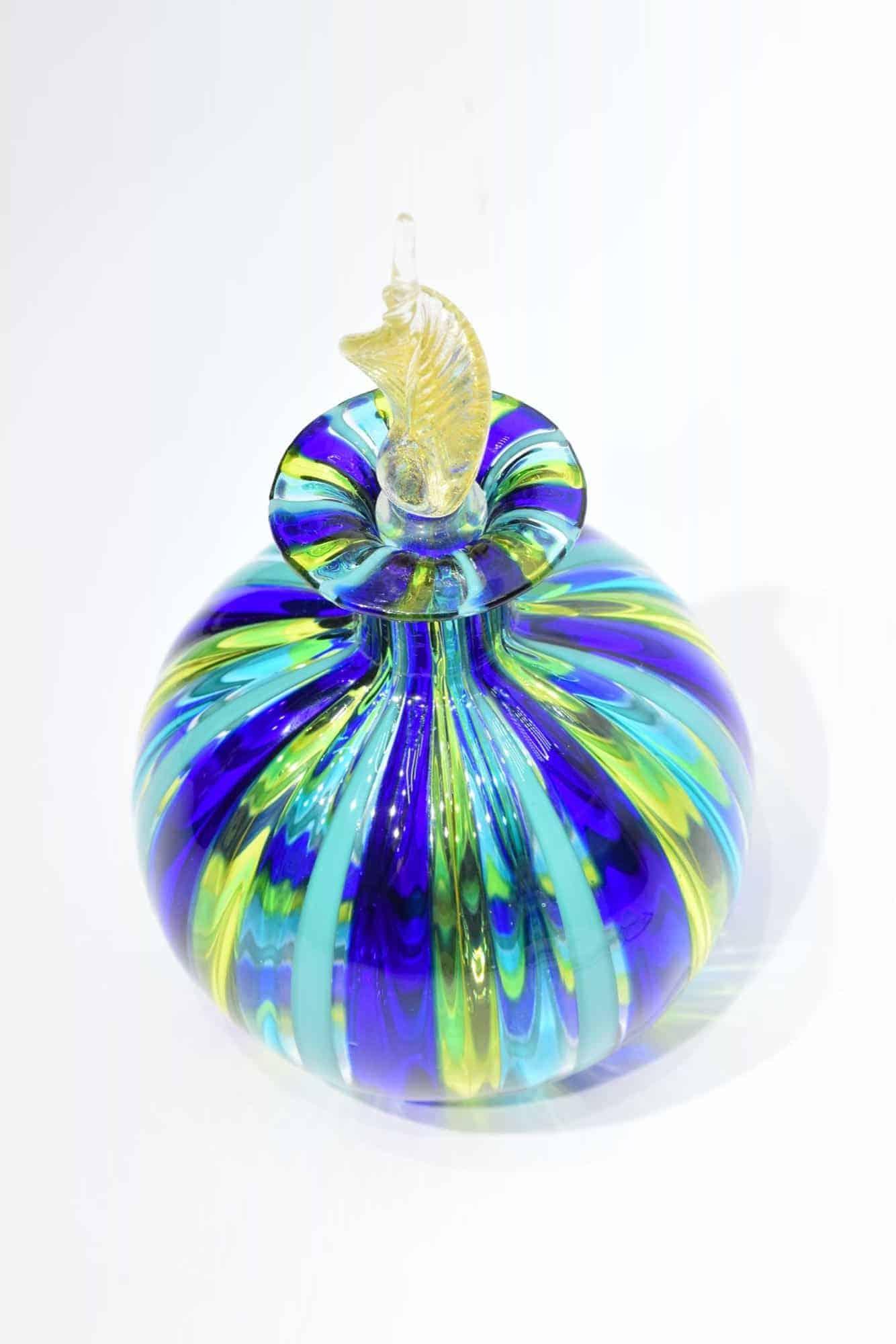 Murano Glas Reed Flasche - (Art. 33916)