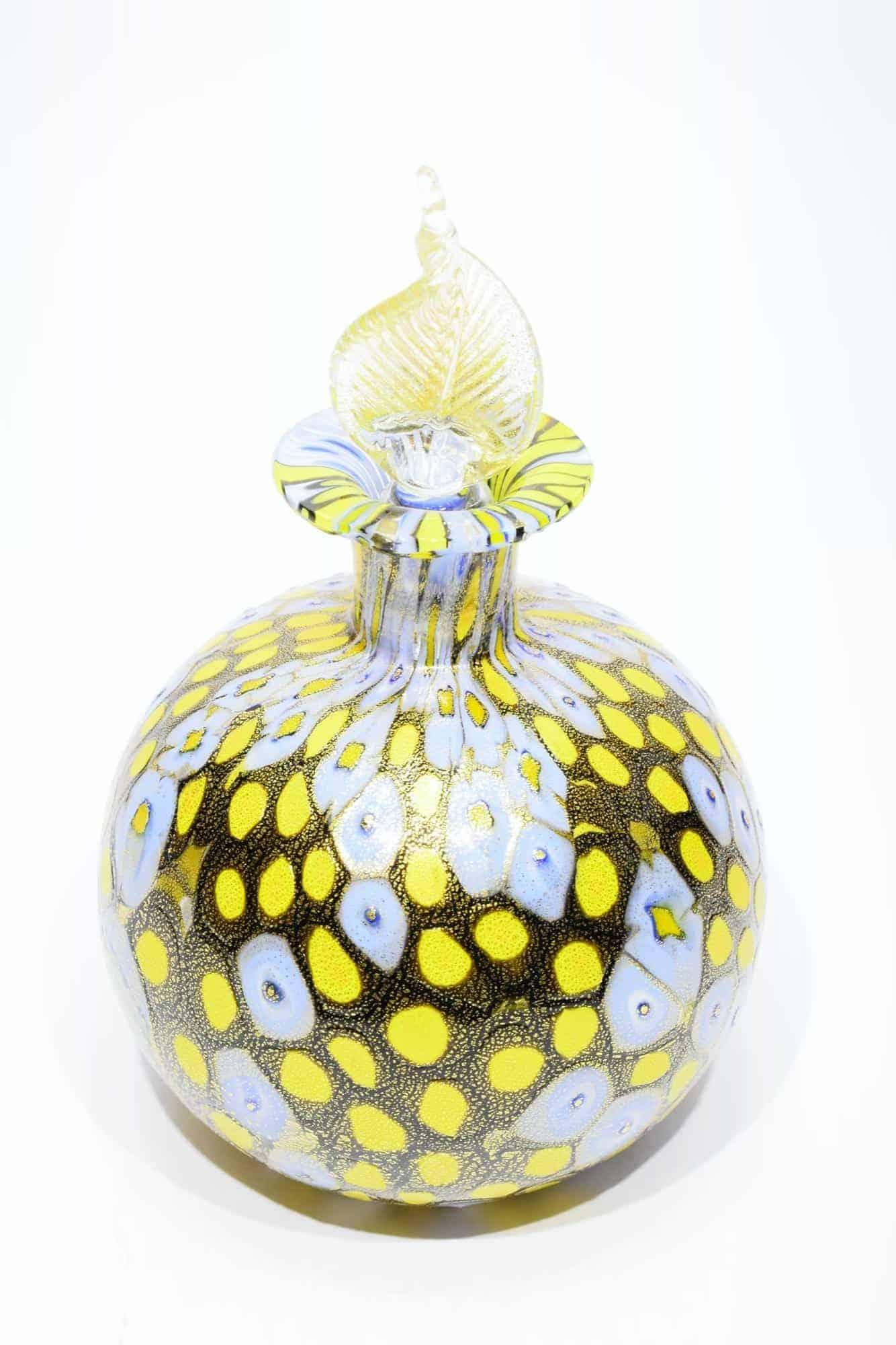 Бутылка Муррина из муранского стекла - (Art. 34514)