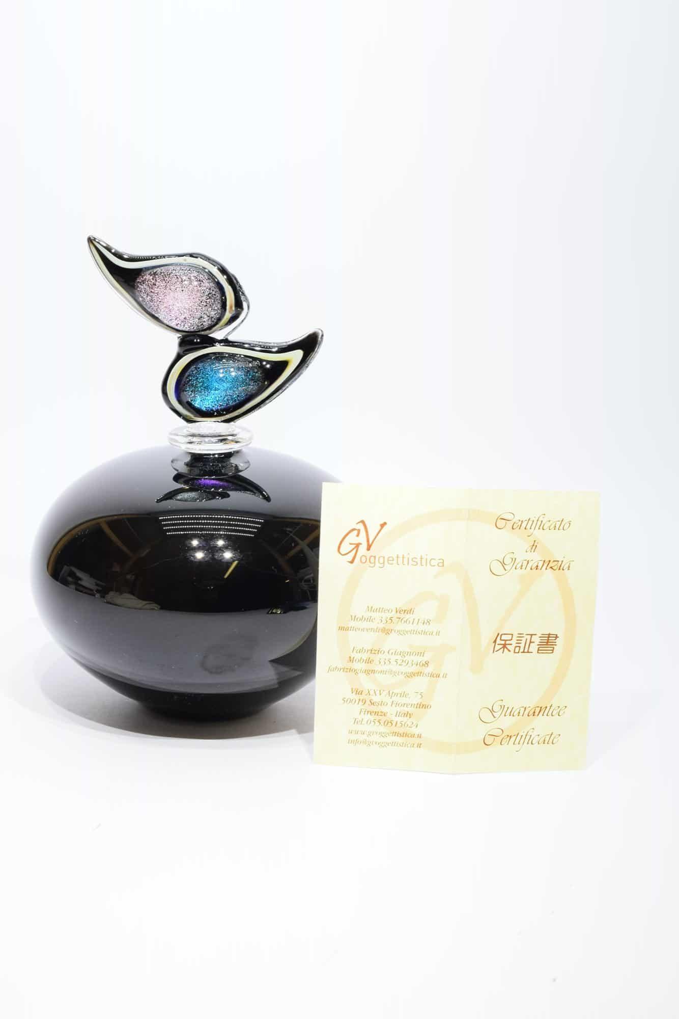 Бутылка из муранского стекла - (Арт. 34859)