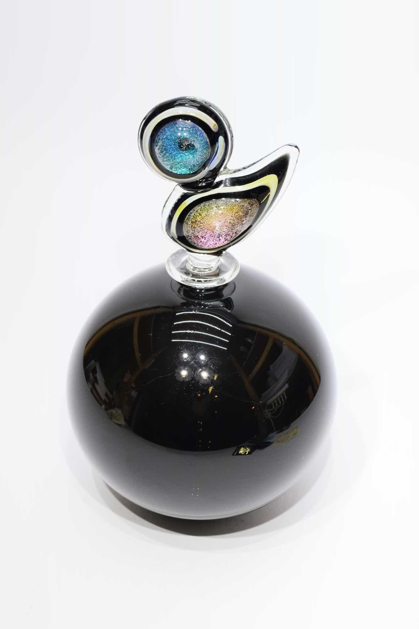 Бутылка из муранского стекла - (Арт. 34865)