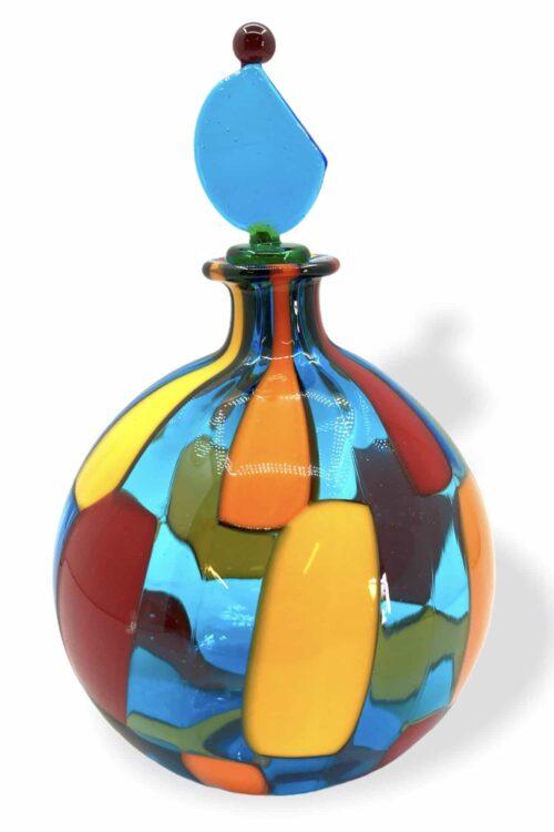 пятнистая бутылка из муранского стекла