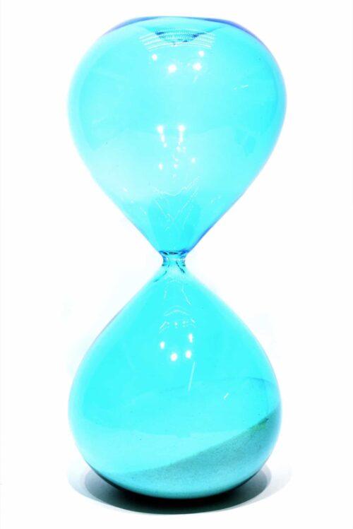 Песочные часы из муранского стекла
