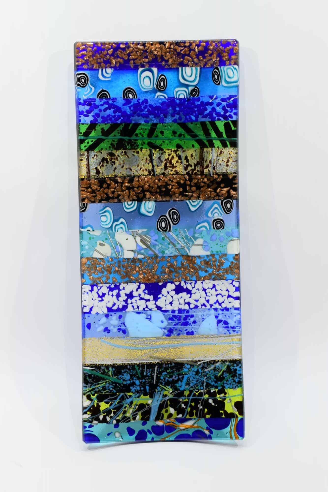 Murano Glas Herzstück - (Art. 34527)