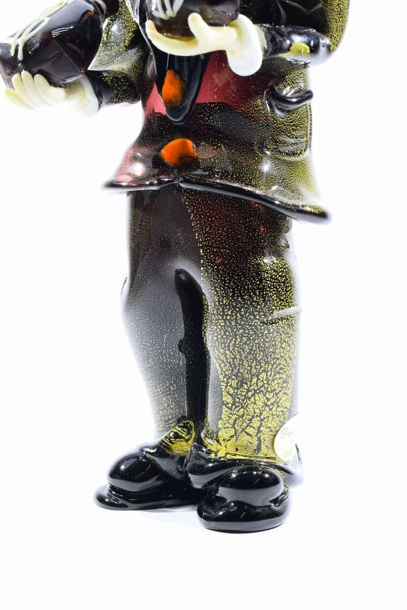 Бандитский клоун из муранского стекла - (Art. 34042)