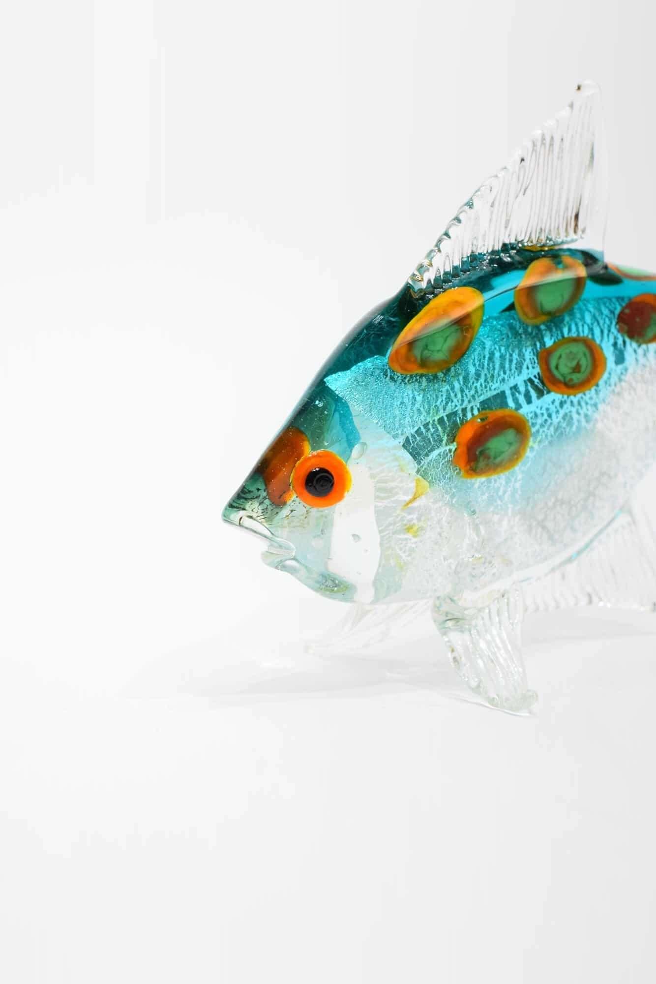 Tropischer Fisch aus Muranoglas - (Art. 34403)
