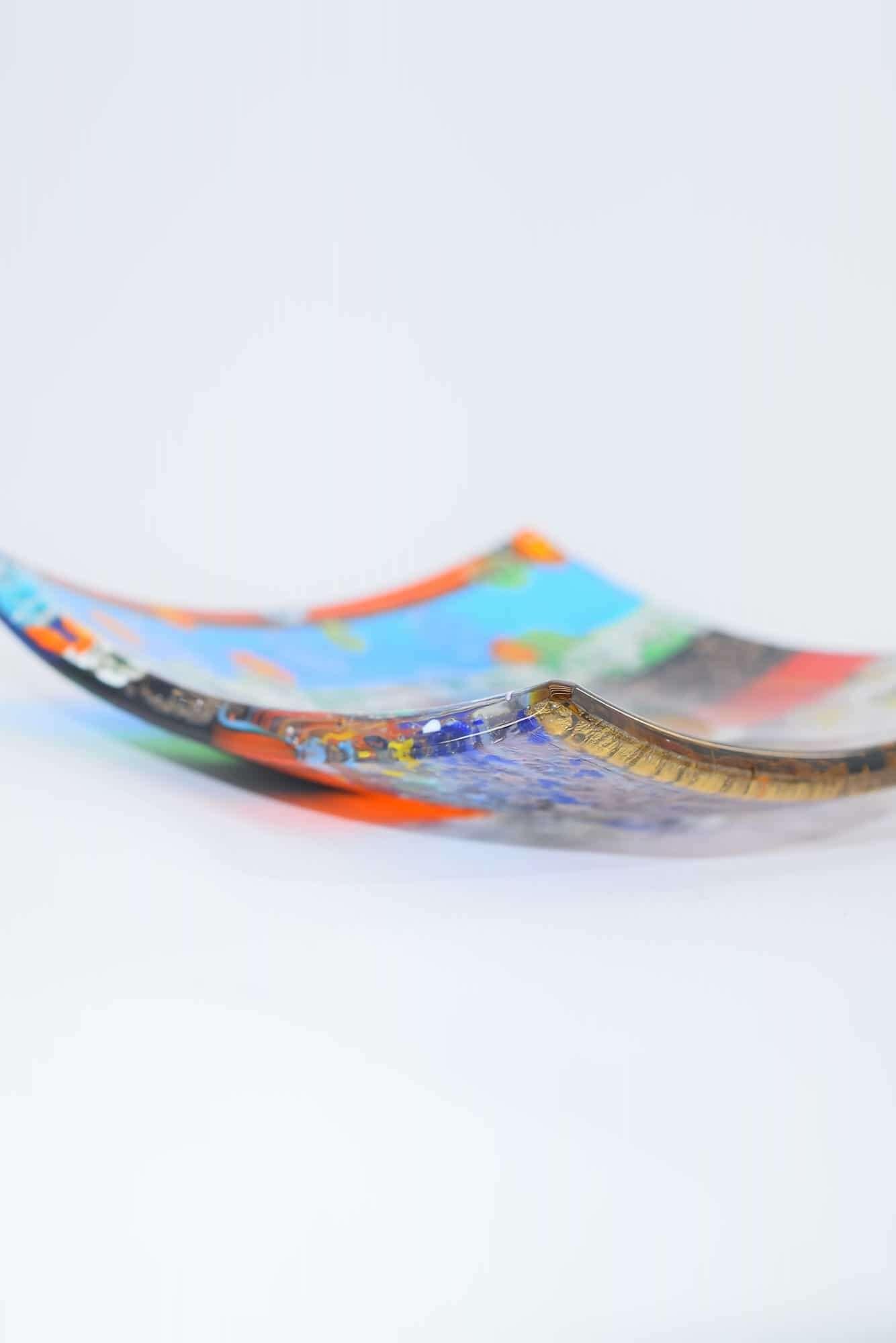 Центральная часть из муранского стекла - (арт. 34295)