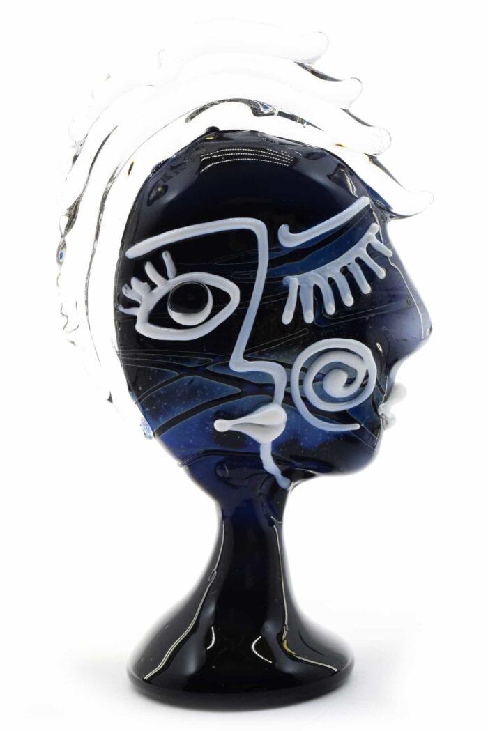 Скульптура Пикассо из муранского стекла