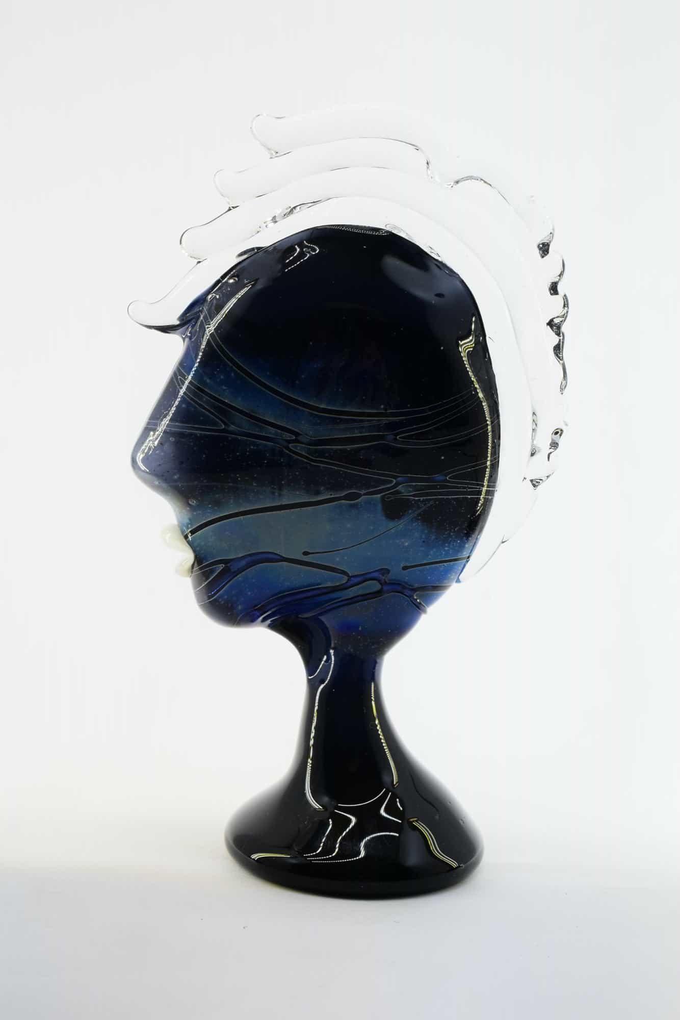 Скульптура Пикассо из муранского стекла - (Art. 13446)