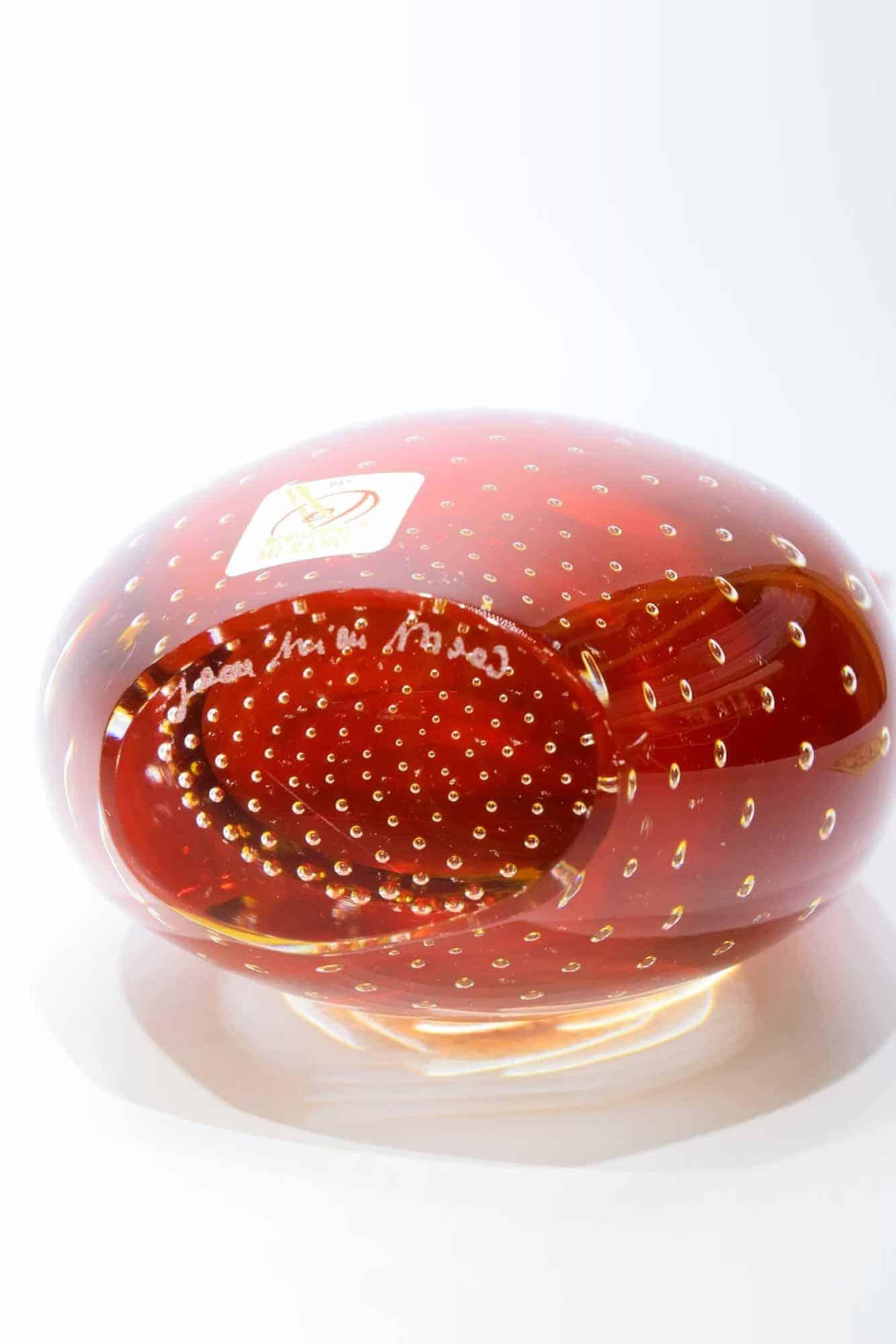 Подводная ваза из муранского стекла - (Арт. 34179)