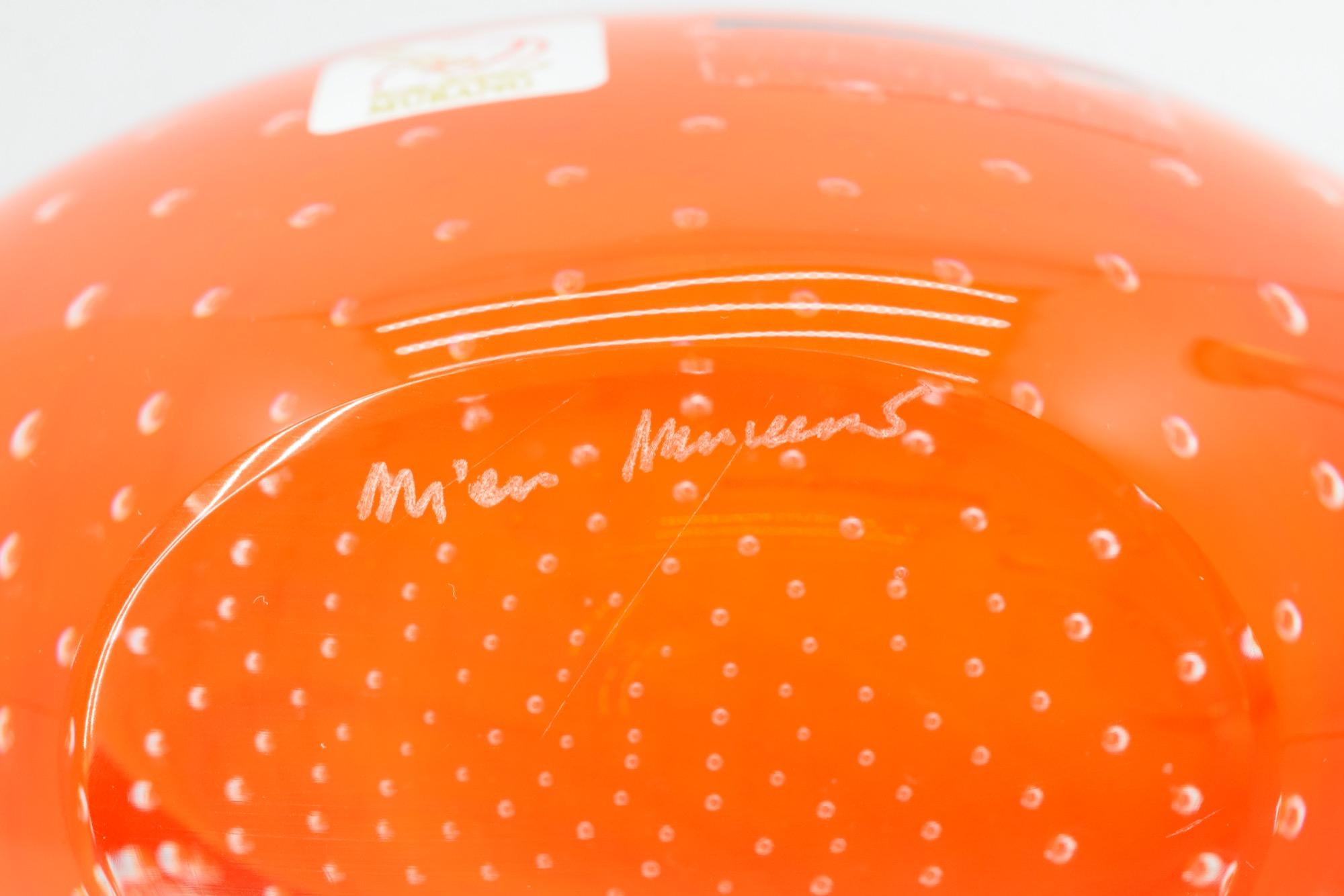 Untergetauchte Murano-Glasvase - (Art. 34324)