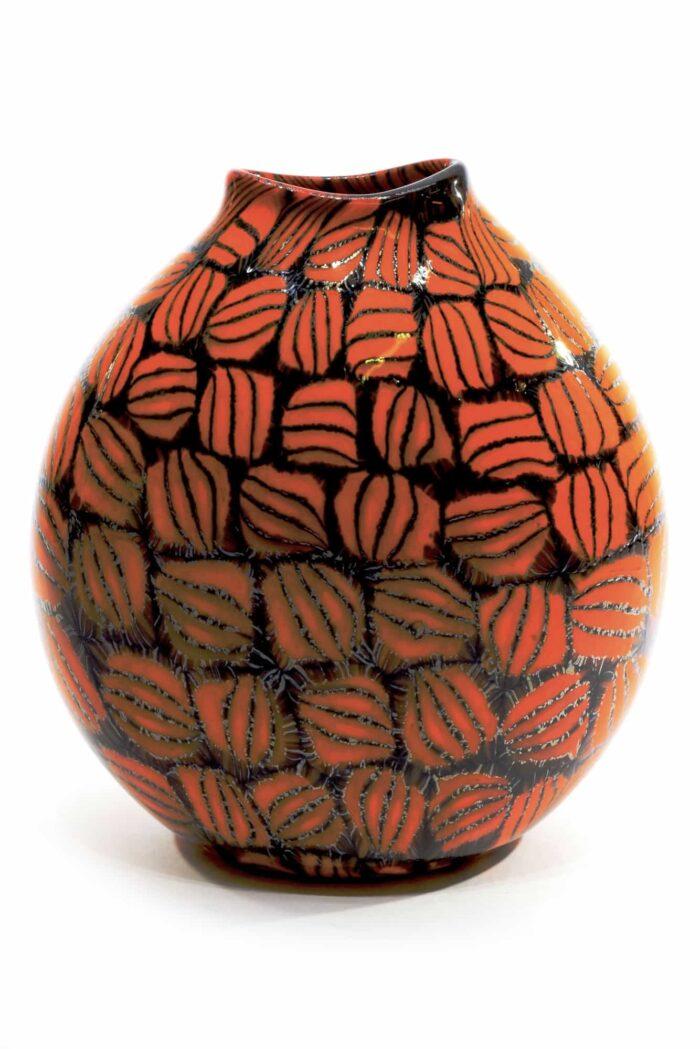 уникальная ваза из муранского стекла