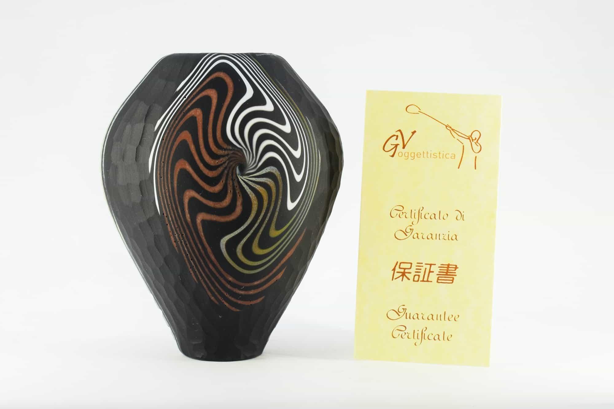 Geschmiedete Murano-Glasvase - (Art. 11671)