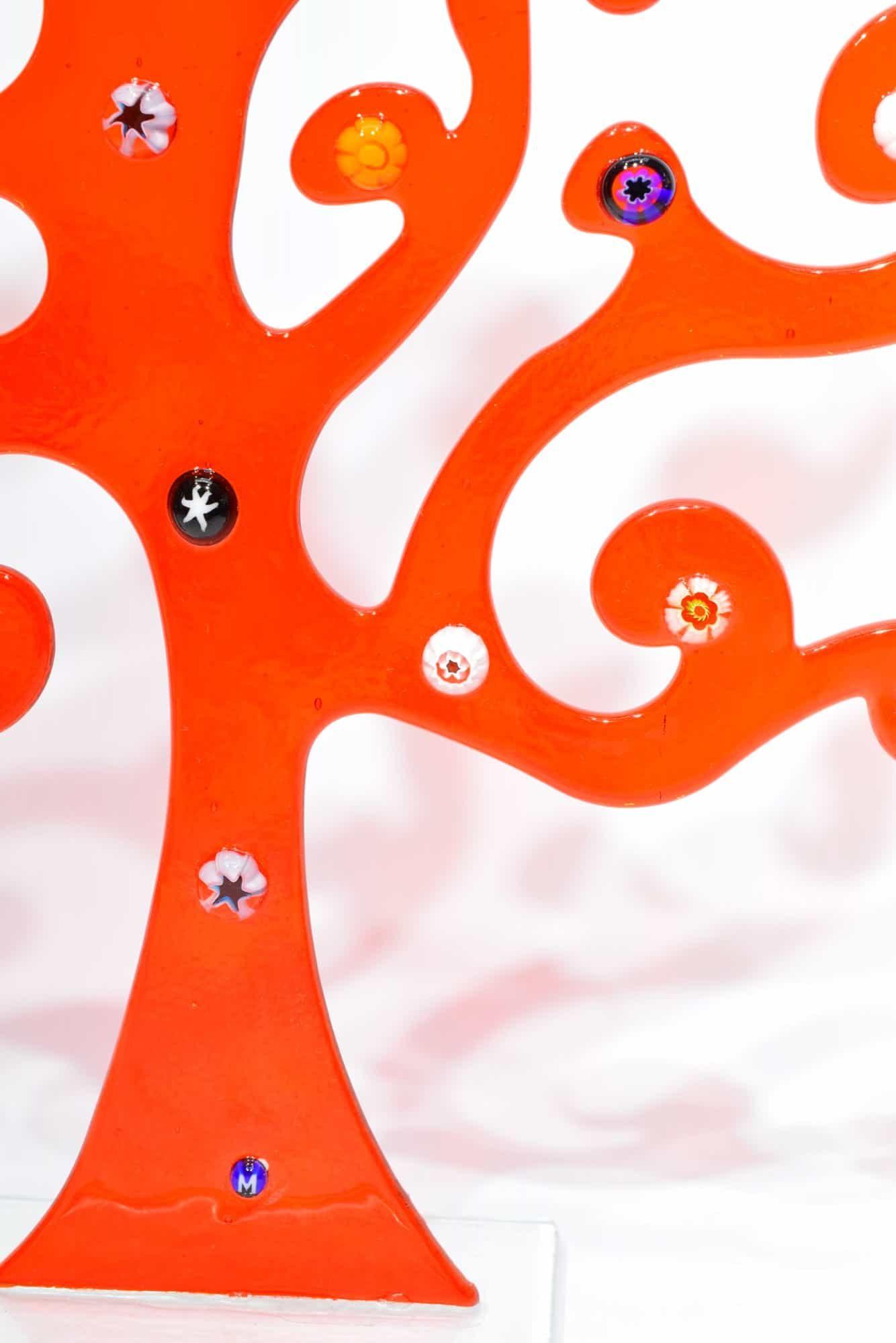 Дерево Климта из муранского стекла - (Art. 32536)