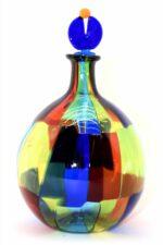 Gefleckte Muranoglasflasche