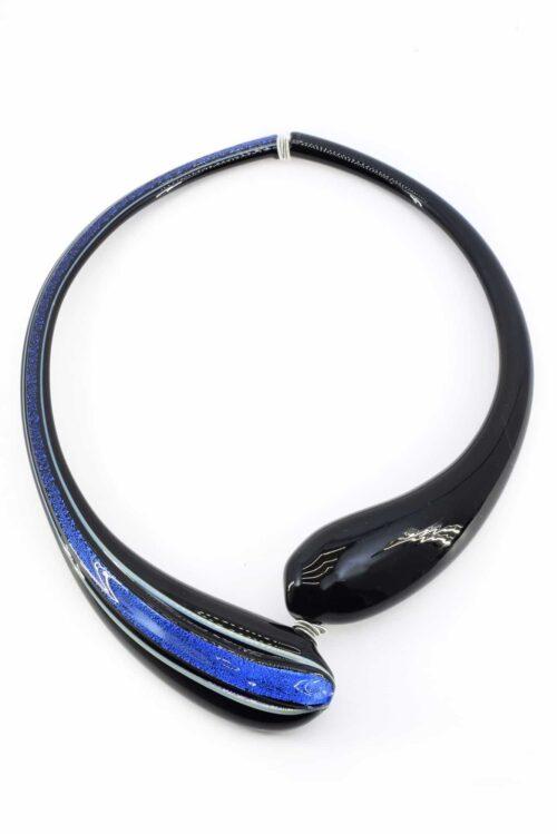 Murano glass choker necklace