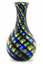 Filigrane Vase aus Muranoglas