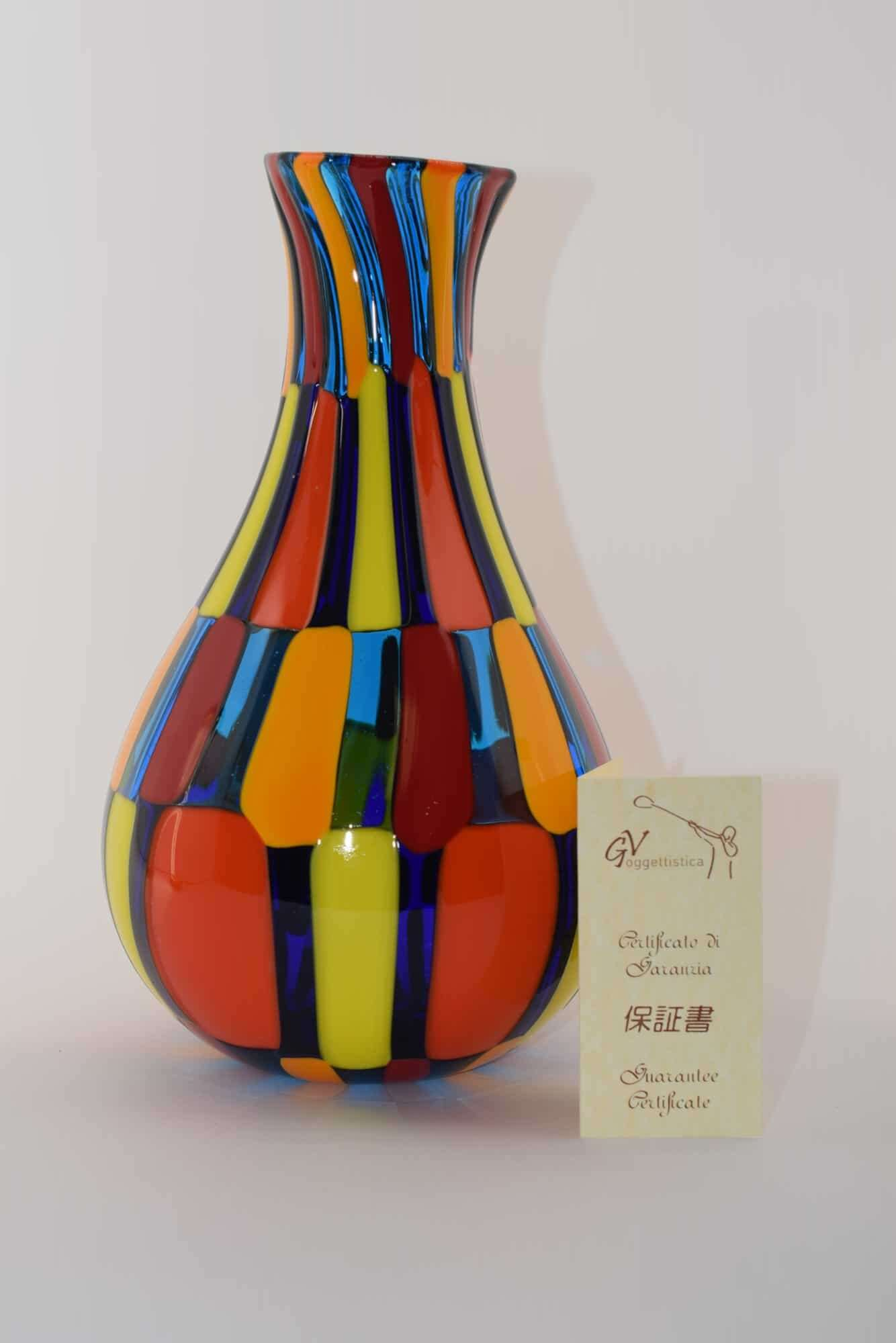 Pezzato Murano Glasvase - (Art. 12735)