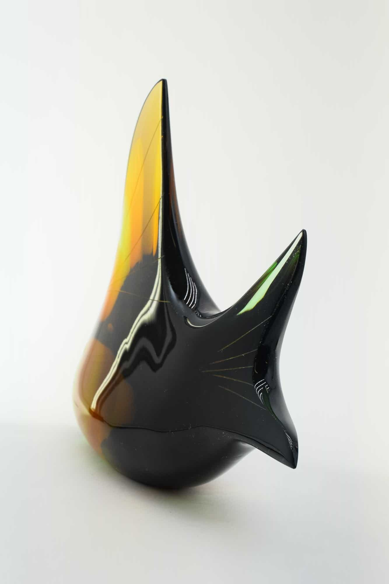 Vintage Fish Glassware Exbor - (Art. 36754)