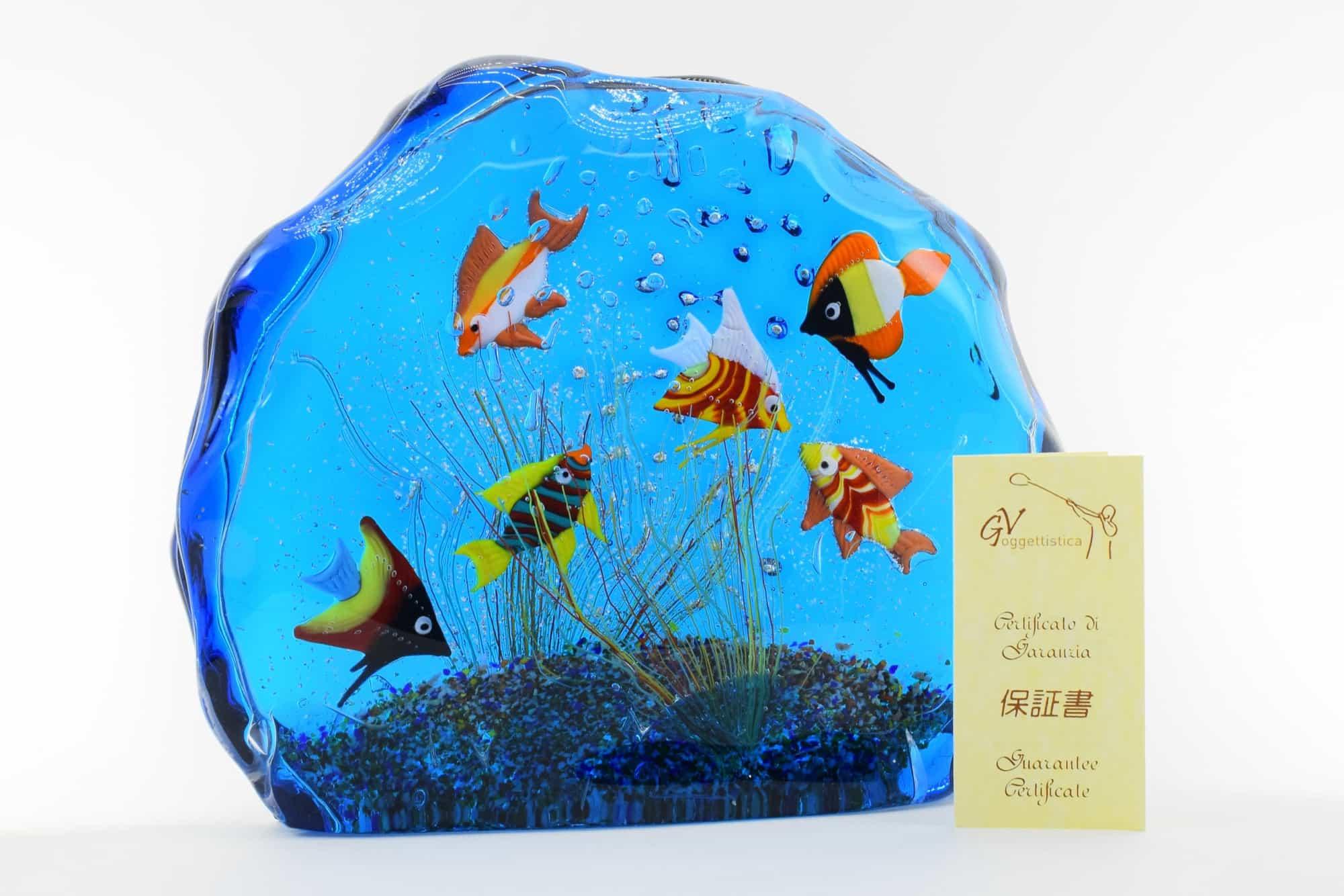 Murano Glass Aquarium - (Art. 36589)