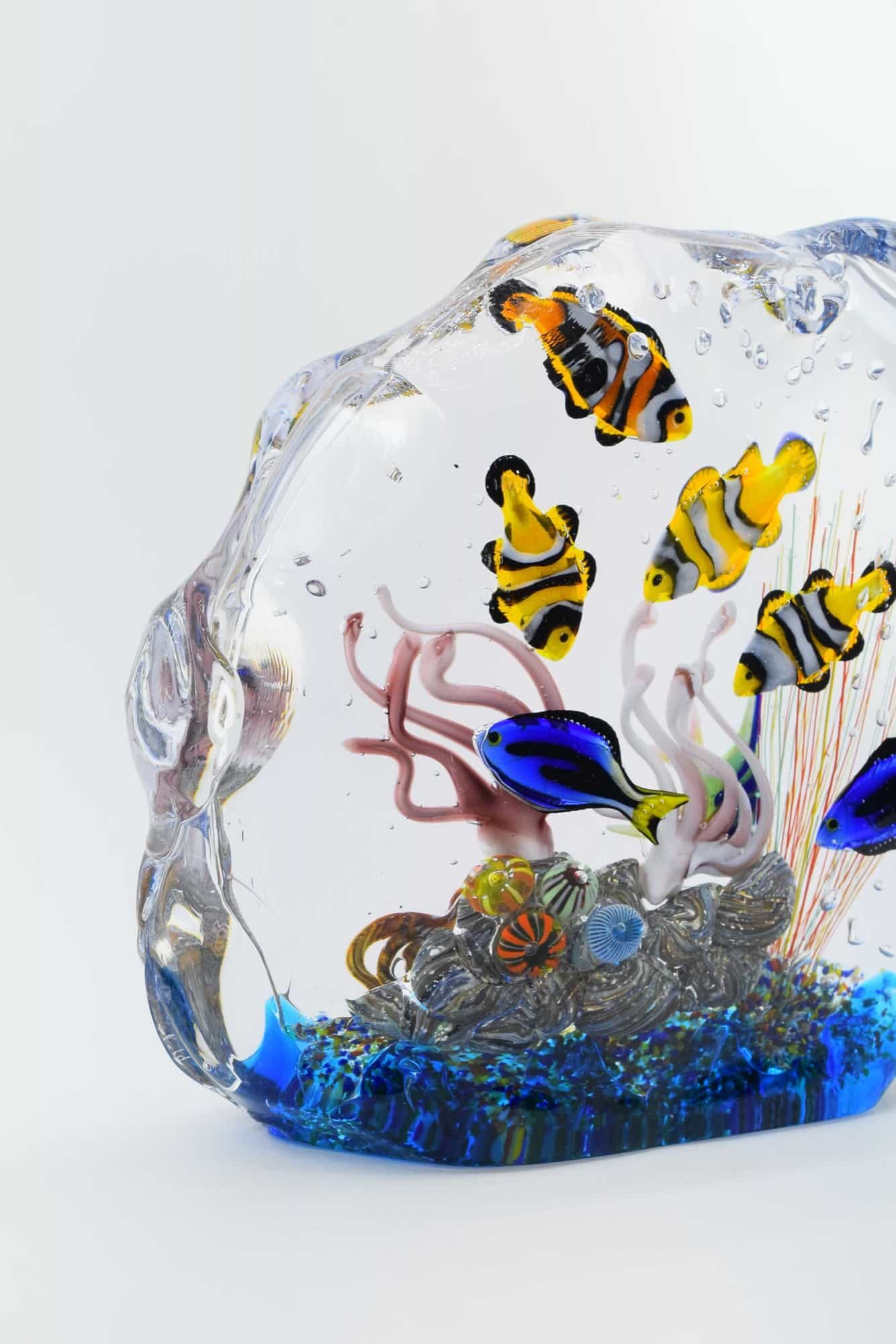 Murano Glass Aquarium - (Art. 36576)