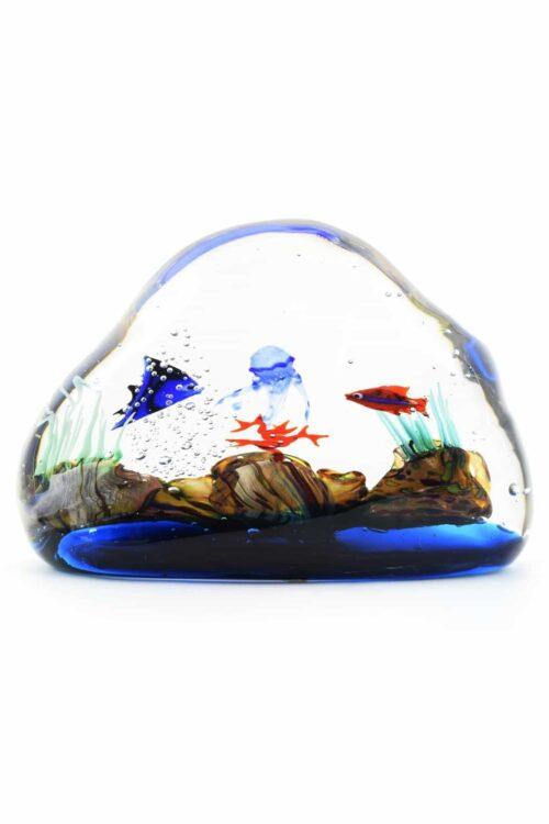 Аквариум из муранского стекла