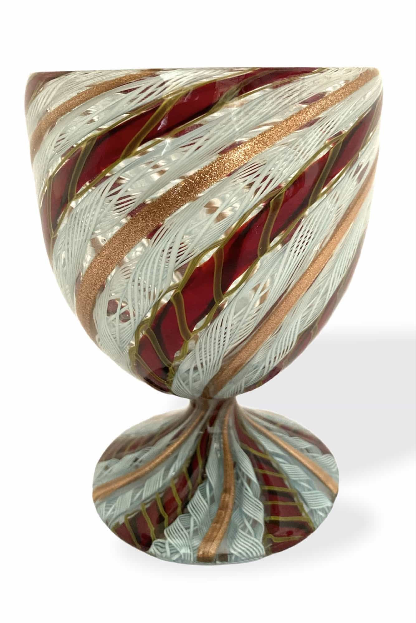 Чаша из муранского стекла zanfirico