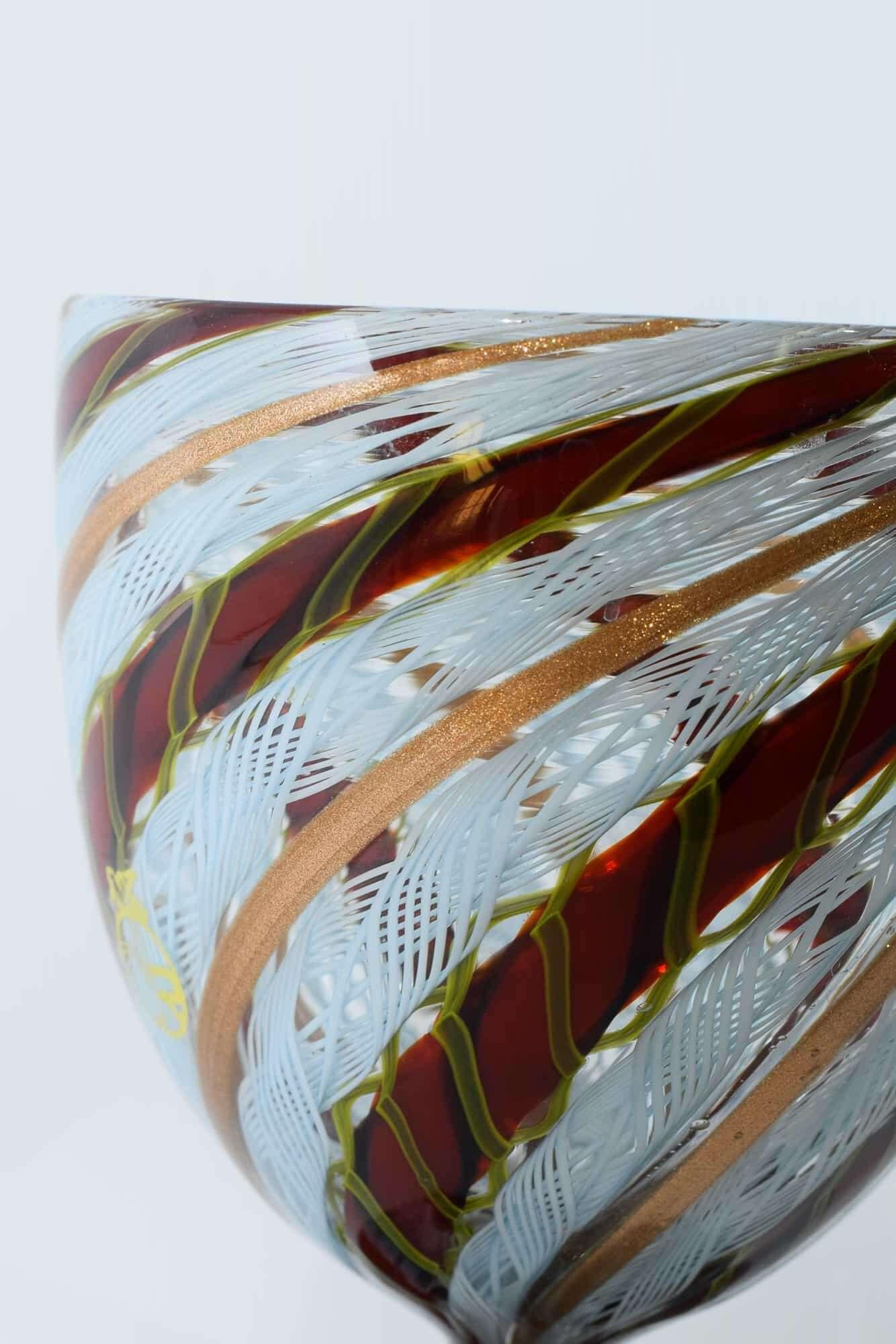 Чаша Занфирико из муранского стекла (арт. 36679)