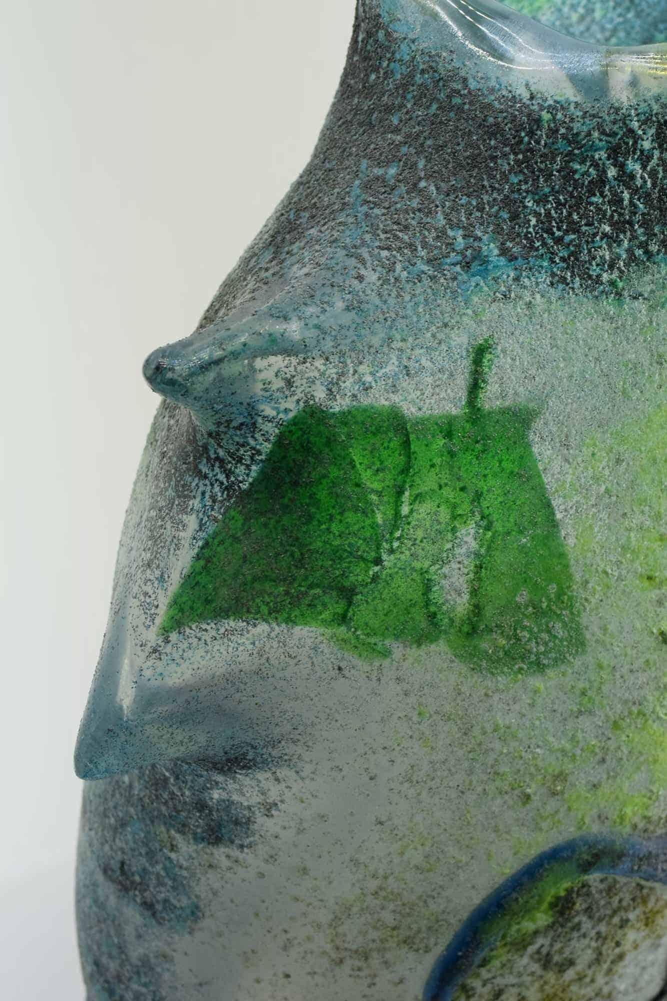 """Ermanno Nason """"Profili"""" Murano Glasvase - (Art. 36745)"""