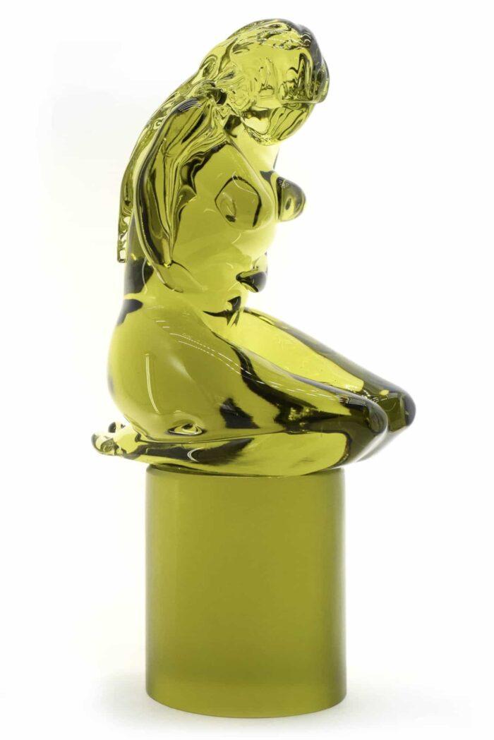 Скульптура Пьета из муранского стекла