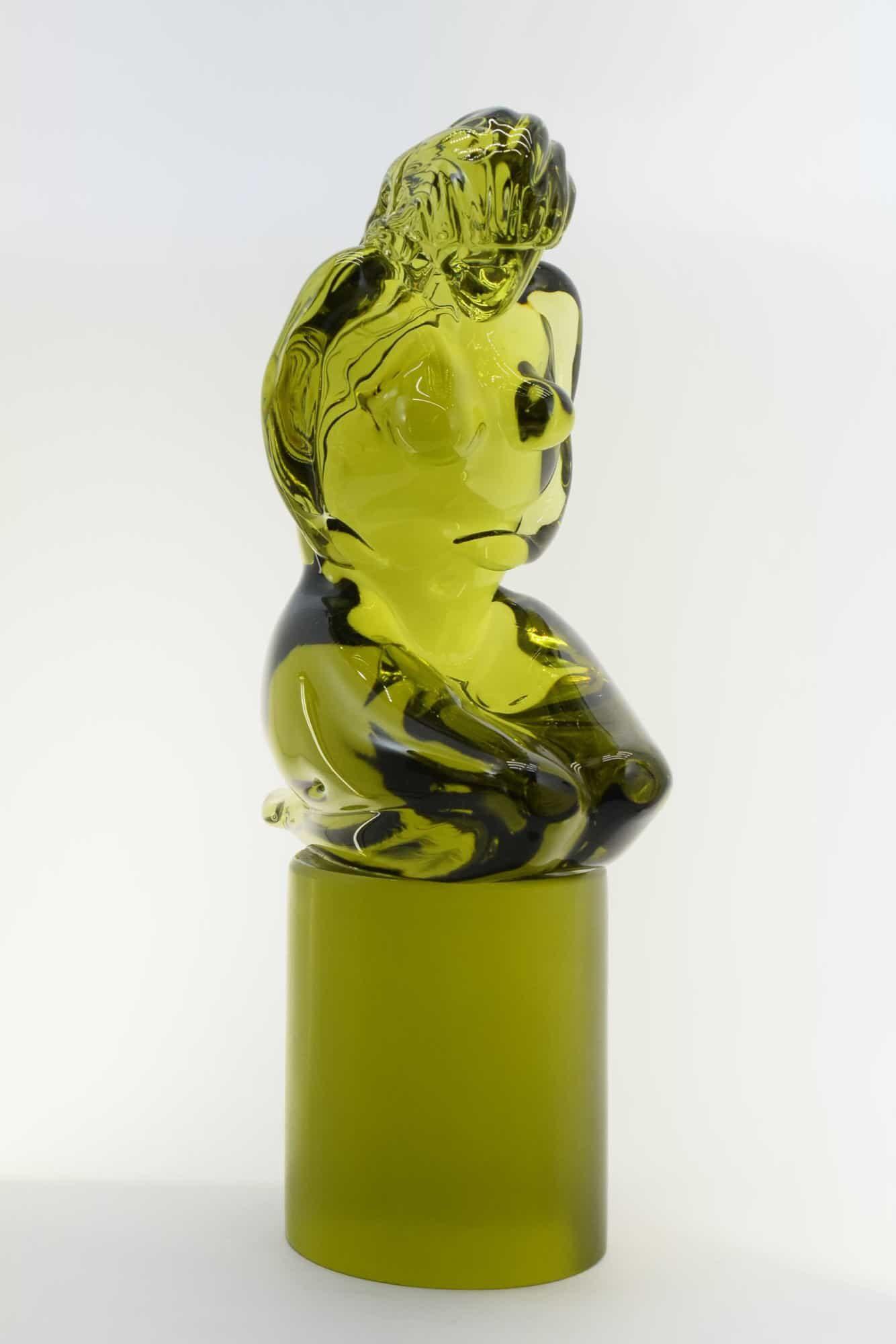"""Скульптура из муранского стекла """"Пьета"""" - (Art. 36499)"""