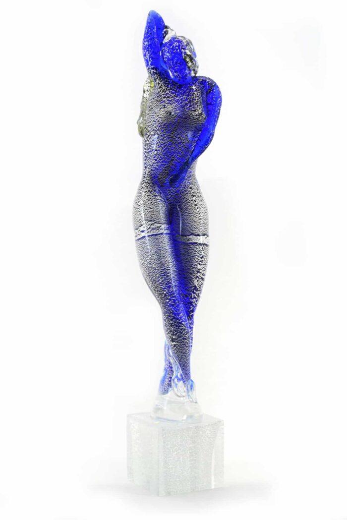 Скульптура танцора из муранского стекла