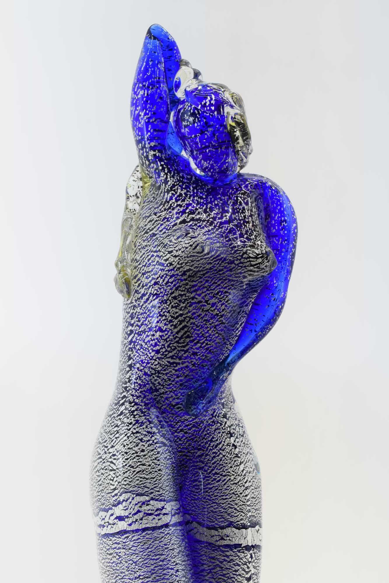 Скульптура танцовщицы из муранского стекла - (Art. 36568)