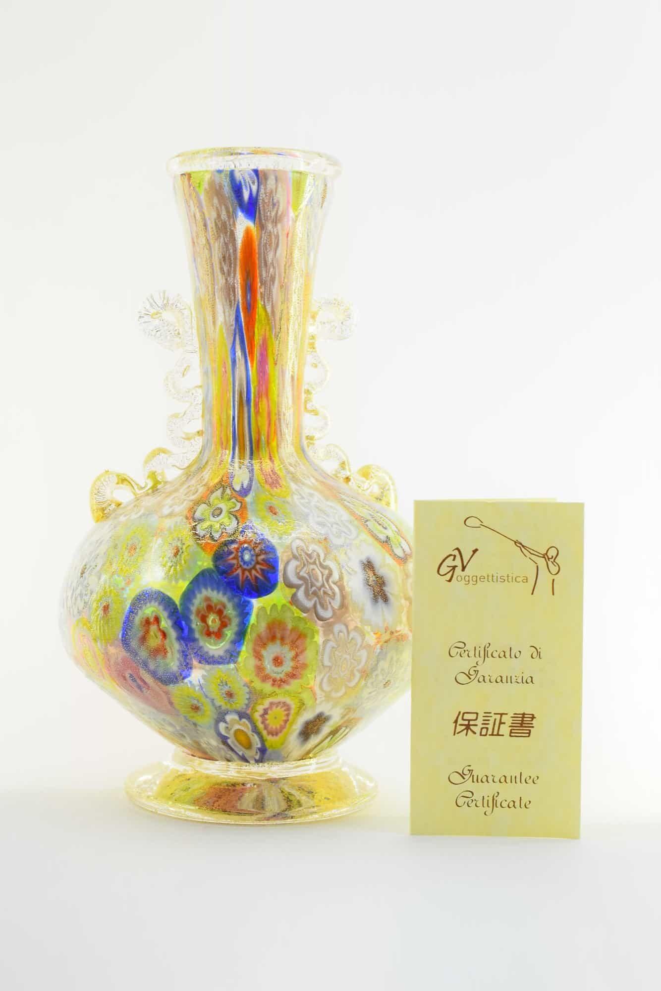 Ваза Муррина из муранского стекла - (Art. 36516)
