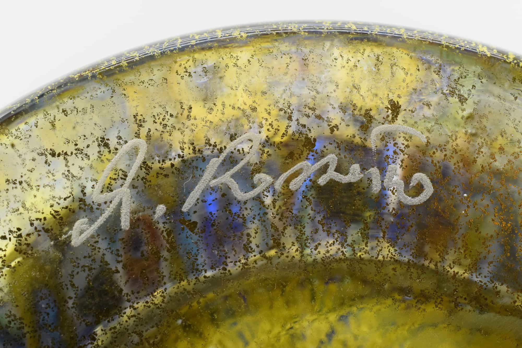 Ваза Муррина из муранского стекла - (Art. 36389)