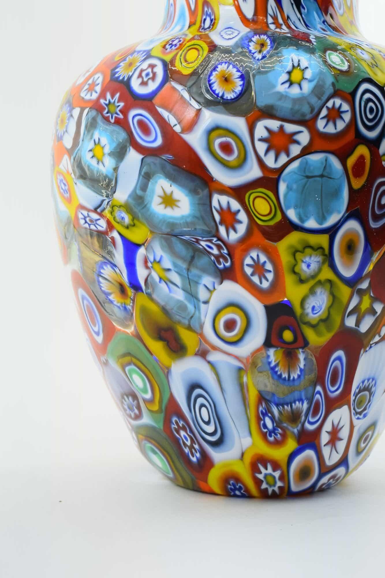 Murrina Vase aus Muranoglas - (Art. 36304)