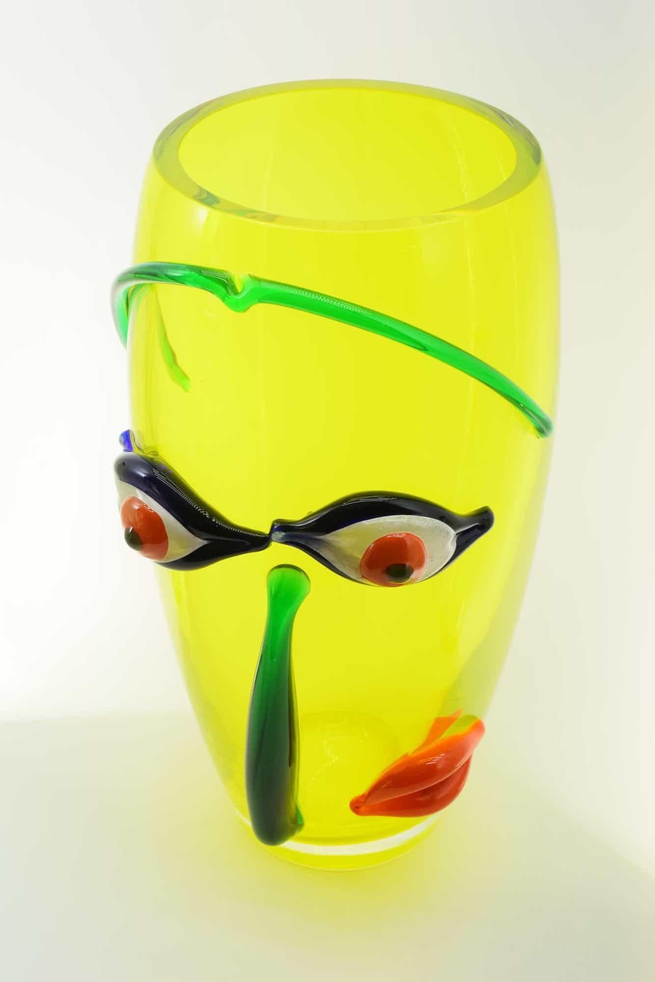 Ваза Пикассо из муранского стекла - (Art. 36651)