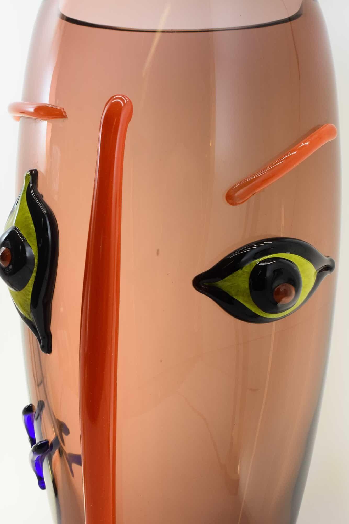 Picasso-Vase aus Muranoglas - (Art. 36397)